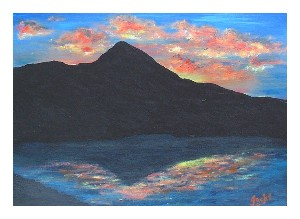 Sunrise At The Reek