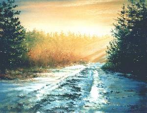 Spring sloppy road