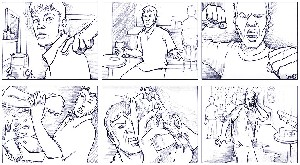 Storyboard (Bar-fight)