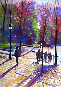 Escaliers a Montmartre - Paris