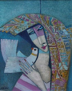 MITCHEV,Peter-Girl with a White Bird II