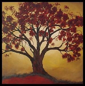 <b>Serene Autumn Morn (Rift Canvas Series)