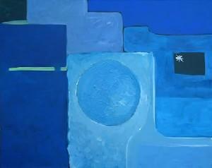 Blue Modulation II