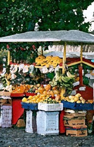 The Street Fruit Stand