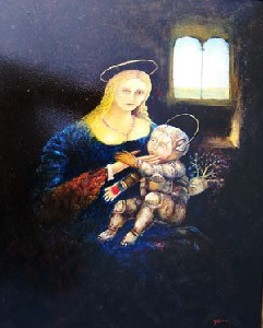 ivanov,yuri-madonna and new child