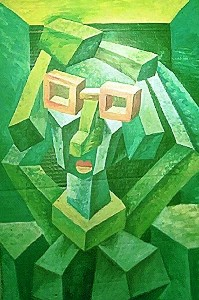 Mirek Sledz - Woman in the glasses