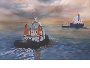 Kortenbout,Gerard-Tugboat two