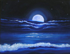 blue moon for surfer girl