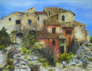 Old village of Provence