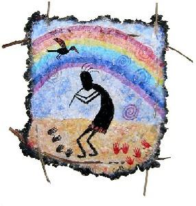 van den Berg,Carla-Kokopelli and the rainbow bird