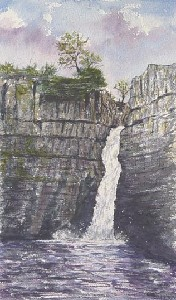 DIMMOCK,.PETER-High Force Waterfall