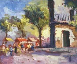 Feria en Barrio Sur
