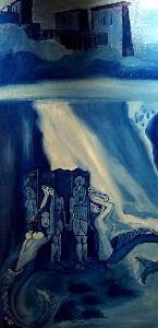 Aegyptico Azulis - The underwater ruin