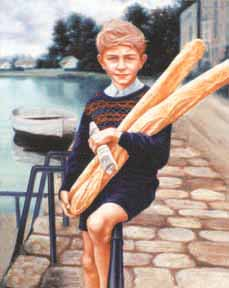 Boy With Bread