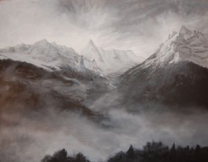 Montagnes du Valais, Suisse