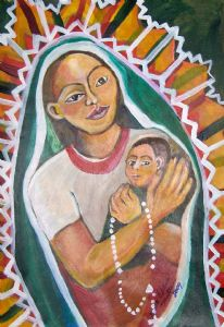 Guadalupe and Child