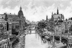 Rees,Ian-Binnen-Amstel View, Amsterdam