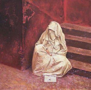 Moroccan Beggar Woman