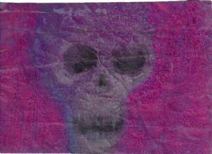 wrinkled skull