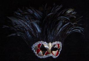 Awesome venetian designer masquerade ball mask made by www.socaldesignco.com