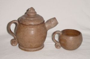 Teapot and cup, 2003