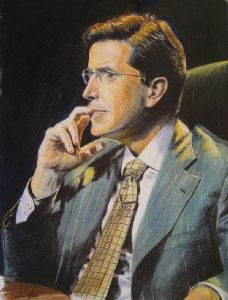 Stephen Colbert Portrait (Drawing)