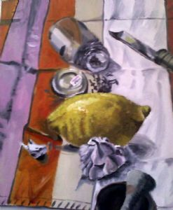 Lemony Garlic and Cloves