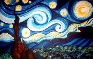 Rollins,Leslie-Her Own Starry Night