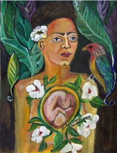 Frida's Child Original Painting