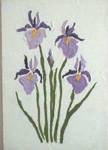 4 and a bud iris