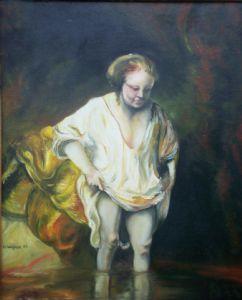 Hogben,Gary-Bathing Woman