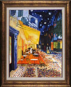 Cafe Terrace on the Place du Forum, Arles