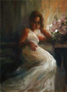 In White Dress