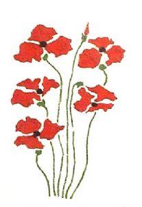5 poppys