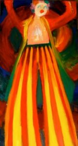 Clown in Technicolor