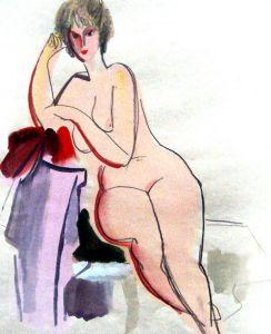 Naked model Katya.