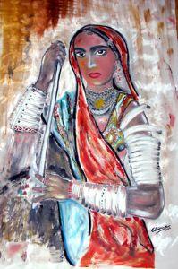 ramachandran,narayanan-RAJASTHANI WOMAN