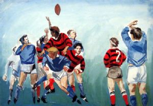 Rugby football. The judge