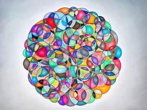 Abstract , circles