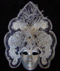 Hapeman,Claudia-Yuki-onna -Designer mask made by Claudia Hapeman of www.socaldesignco.com.