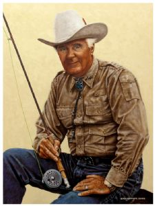 COWBOY ON THE RIVER-CURT GOWDY