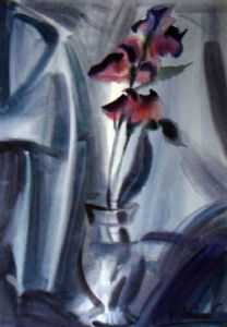 The Purple flower.