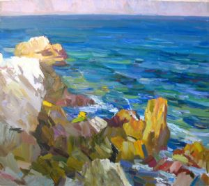 Sunny seashore