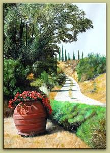 Tuscan Summer Road