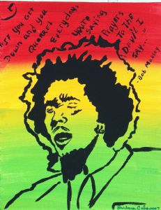 Bob Marley Positive Vibration