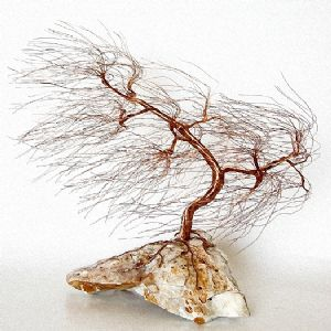 huremovic,omer-wire tree sculpture-1262 wind swept