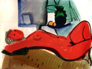 Aminov,Faizulla-Red Nude.