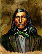 Steven Talkhouse Pharoah - Montauk Leader, Ca. 19th Century