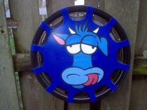 Bovine in Blue