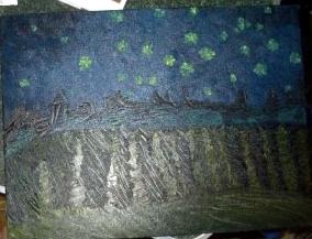 Version of Van Gogh's Starry Night, Alres.